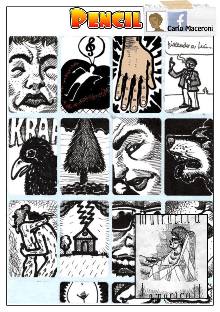 maceroni fumettista