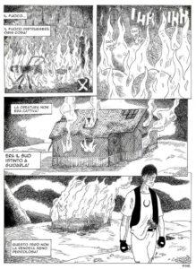 Il ragno fumetto di Ratti e Damix