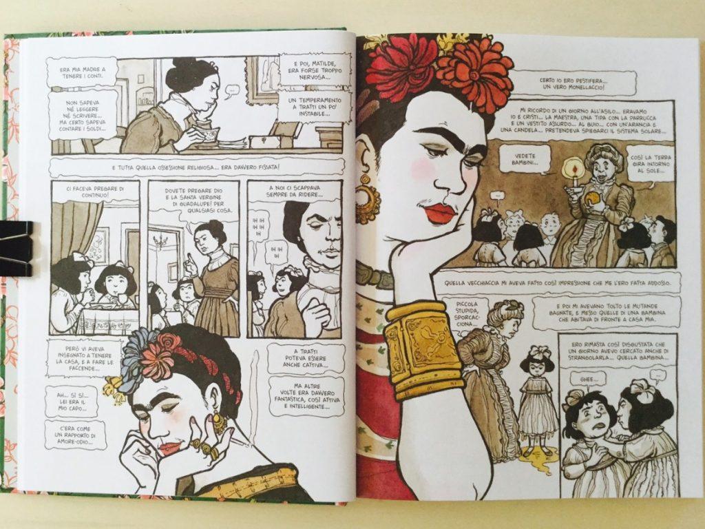 frida kahlo fumetti online