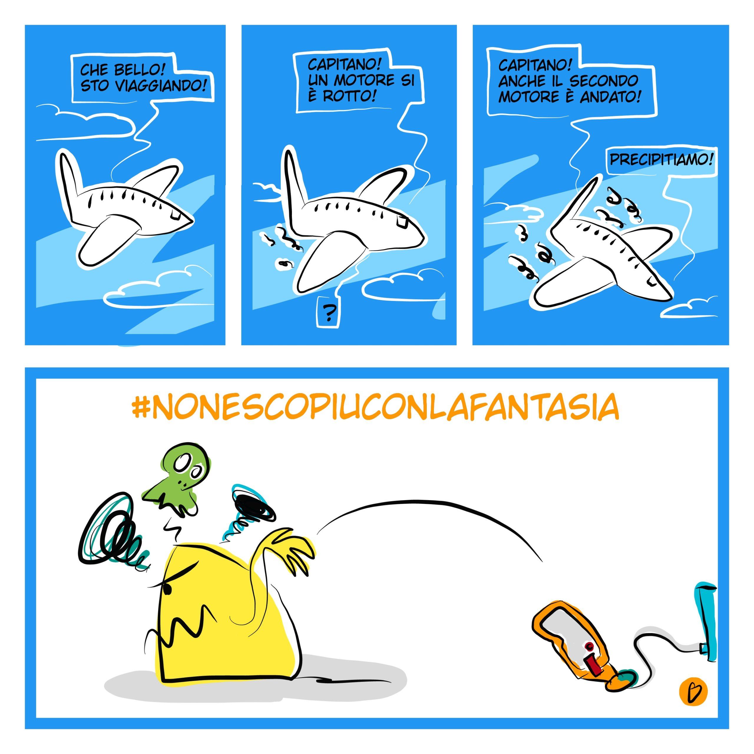 vignette divertenti quarantena
