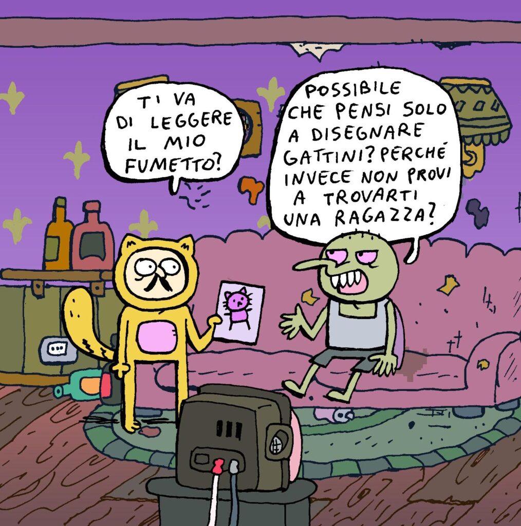 webcomics italiani
