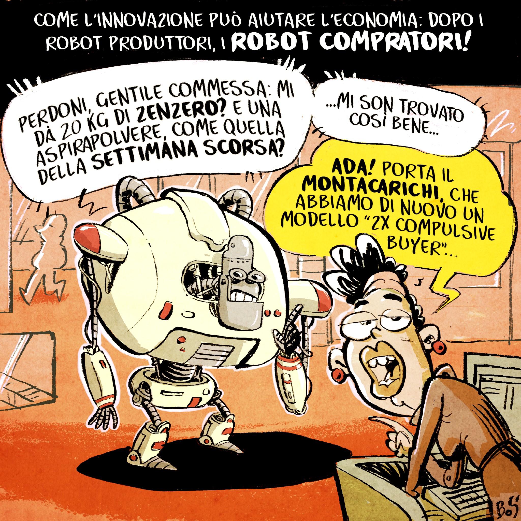maurizio boscarol vignette e satira