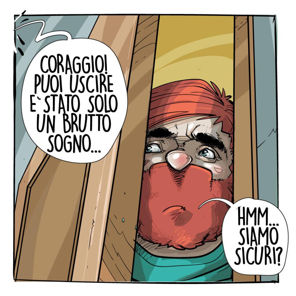 fumetti covid